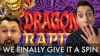 "5 DRAGONS RAPID for the First Time • Rich Calls to Say ""Pick Mystery!"" on 5 DRAGONS GRAND"