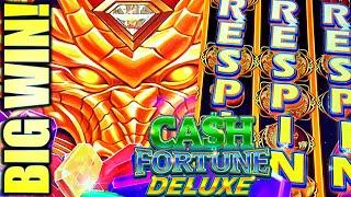 ⋆ Slots ⋆AWESOME BIG WIN!!⋆ Slots ⋆ W/ANOTHER JACKPOT?? CASH FORTUNE DELUXE DRAGON Slot Machine (Aristocrat Gaming)