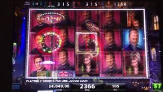Black Widow Bonus Round in New Orleans $105 a pull!!!