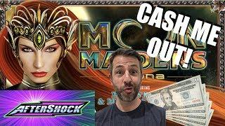 CASH ME OUT!! • MOON MAIDENS AFTERSHOCK • ORIGINAL WICKED WINNINGS • SLOT MACHINE POKIE WINS!