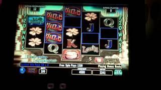IGT - End of the Rainbow Slot Bonus w/ Re-Triggers