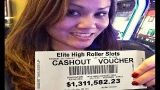 •$1,311,500 Million• Dollar Cashout Jackpot Handpay Vegas Casino Video Slot IGT, Aristocrat • SiX Sl