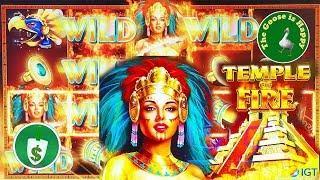 • • Temple of Fire slot machine, bonus
