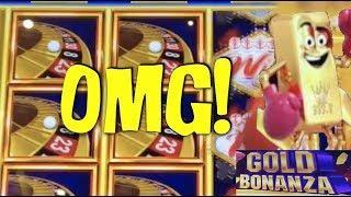 HANDPAY TIME!!! INCREDIBLE HIT ON GOLD BONANZA • NEW GAME NU WA ZAO REN • SLOT MACHINE JACKPOT