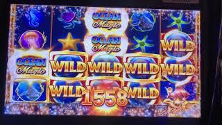 Short n Sweet • AMAZING LINE HIT on $10 BET on OCEAN MAGIC High Limit CASINO Slot Machine!