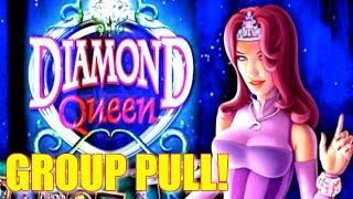 • GROUP PLAY • DIAMOND QUEEN $5 BET AT THE COSMO IN VEGAS | SlotTraveler