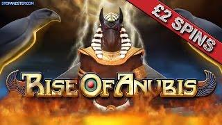 Slot Play - Rise of Anubis £2 Spins in BETFRED with FREE SPINS BONUS