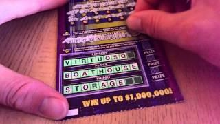 NEW YORK LOTTERY $1,000,000 WHEEL OF FORTUNE SCRATCH OFF WINNER!  FREE ENTRY WIN $1MIL!