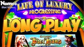 Life of Luxury Progressive Slot Machine - Colossal Bier Haus - My First Play