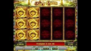 Fairy Queen Slot - Freispiele - 165-facher Gewinn