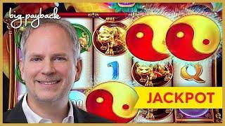 JACKPOT HANDPAY! Jinse Dao Dragon Slot - IT FINALLY HAPPENED!