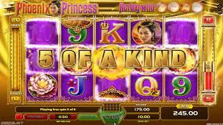Phoenix Princess slot - 1,420 win!