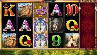 WOLF CHIEF Video Slot Casino Game with a WOLF CHIEF FREE SPIN BONUS