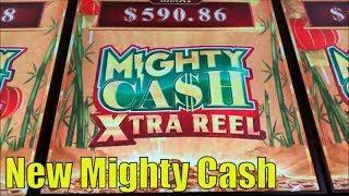 •NEW MIGHTY CASH !•MIGHTY CASH XTRA REEL (GUO NIAN) Slot $135 Free Play Slot Live @ San Manuel•彡