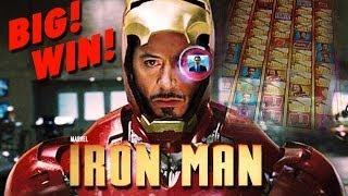 Iron Man - BIG WIN! - Slot Machine Bonus - WMS