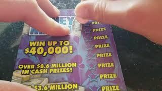 $40,000 MONEY MATCH KENTUCKY LOTTERY SCRATCH OFF TICKET!