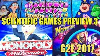 G2E 2017 preview of Scientific Games part 3 of 3