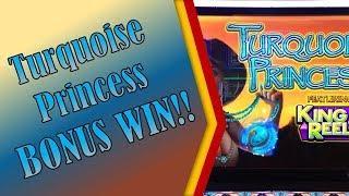 #124 Turquoise Princess - Line Hits and Bonus