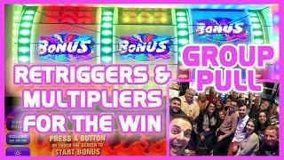 RENO Group Slot Pull • HIGH LIMIT $200/Person • Brian Christopher Slots