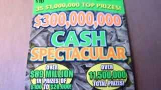 Short video - good win - $10 Illinois Instant Lottery Ticket Scratchcard video