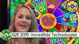 #G2E2019 Incredible Technologies - Roller Wheel Jungle Roll, Slot Machine Previews