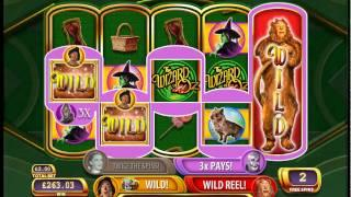Wizard Of Oz - Ruby Slippers WMS Free Spins - Super Big Win