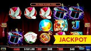 JACKPOT HANDPAY! Lock it Link Hold Onto Your Hat Slot - AWESOME BONUS!