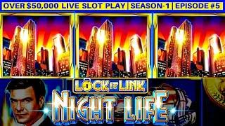 High Limit LOCK IT LINK Slot Machine Live Play & Bonus | Season-1 | Episode #5