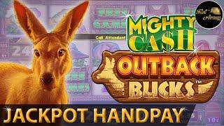 ⋆ Slots ⋆️JACKPOT HANDPAY⋆ Slots ⋆️MY FIRST $12 MAX BET AND I HIT BIG OUTBACK BUCKS MIGHTY CASH SLOT