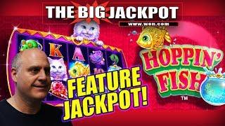 •️ INTRO ANNOUNCEMENT • HOPPIN' FISH FEATURE JACKPOT WIN!