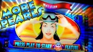 More Pearls - my 1st Bonus...  Aristocrat Slots game..