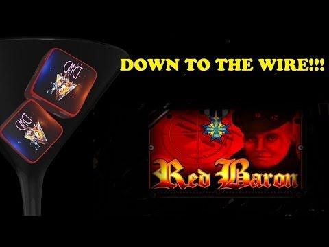 #TBT - MAX BET - NAIL BITING RED BARON BONUS!!