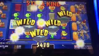 Plants vs Zombies 3D Slot Machine - 2 Free Spins Bonuses