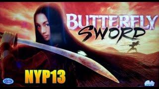 Bally - Butterfly Sword Slot Bonus BIG WIN