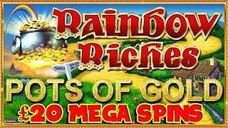 MEGA BETS Rainbow Riches + Thai Flower