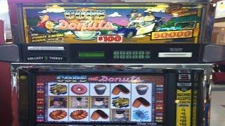 •$110,000 Slot Bonus Win!  IGT, Aristocrat Vegas Jackpot Handpay Cops & Donuts Machine Aristocrat •
