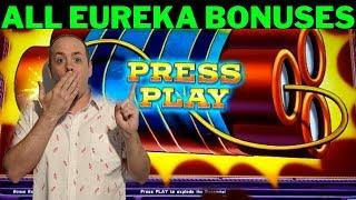 •EUREKA REEL BLAST• All Bonuses• WINS ever Lock it Link Reel Blast