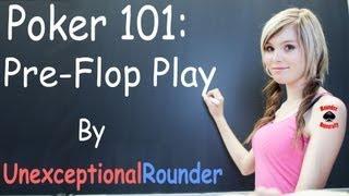 Texas Holdem Poker Strategy - Preflop Strategy - Pre Flop Poker