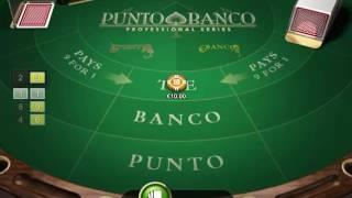 Punto Banco netent - online Card game - Netent-Games.eu