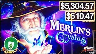 • Merlin's Crystals slot machine, bonus