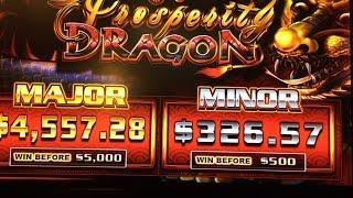 NEW Prosperity Dragon Slot Bonuses BIG WIN! - Ainsworth