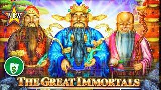 •️ New - The Great Immortals Money Link slot machine, bonus