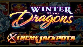 NEW GAME!  WINTER OF THE DRAGONS SLOT MACHINE POKIE BONUSES - PECHANGA CASINO