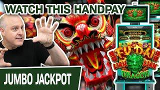 ⋆ Slots ⋆ I LOVE JACKPOTS! Do You? ⋆ Slots ⋆ Then Watch THIS HANDPAY on Fu Dai Lian Lian: Dragon