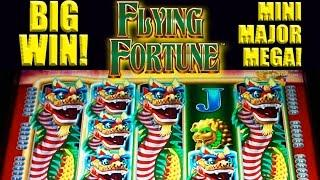 Flying Fortune Slot - **BIG WIN** - MINI-MAJOR-MEGA! - Slot Machine Bonus