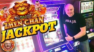26 FREE GAMES??! • High Limit • BIG WIN • Zhen Chan Slots! •  The Big Jackpot