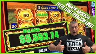 ⋆ Slots ⋆NEW! High Limit Dragon Link MAJOR JACKPOT (FIRST SPIN) Tampa Hardrock⋆ Slots ⋆