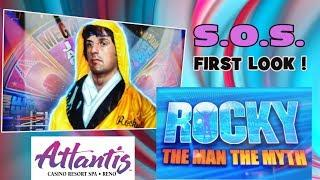 ROCKY: THE MAN THE MYTH  -  Scientific Games - HOT NEW GAME!  Reno!
