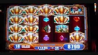 Bier Haus MEGA HUGE BIG WIN + Retriggers Slot Machine Bonus Free Spins Games