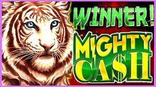 • I WON! CANT BELIEVE I WON MIGHTY CASH! •️ MAX BET BONUS! | Slot Traveler